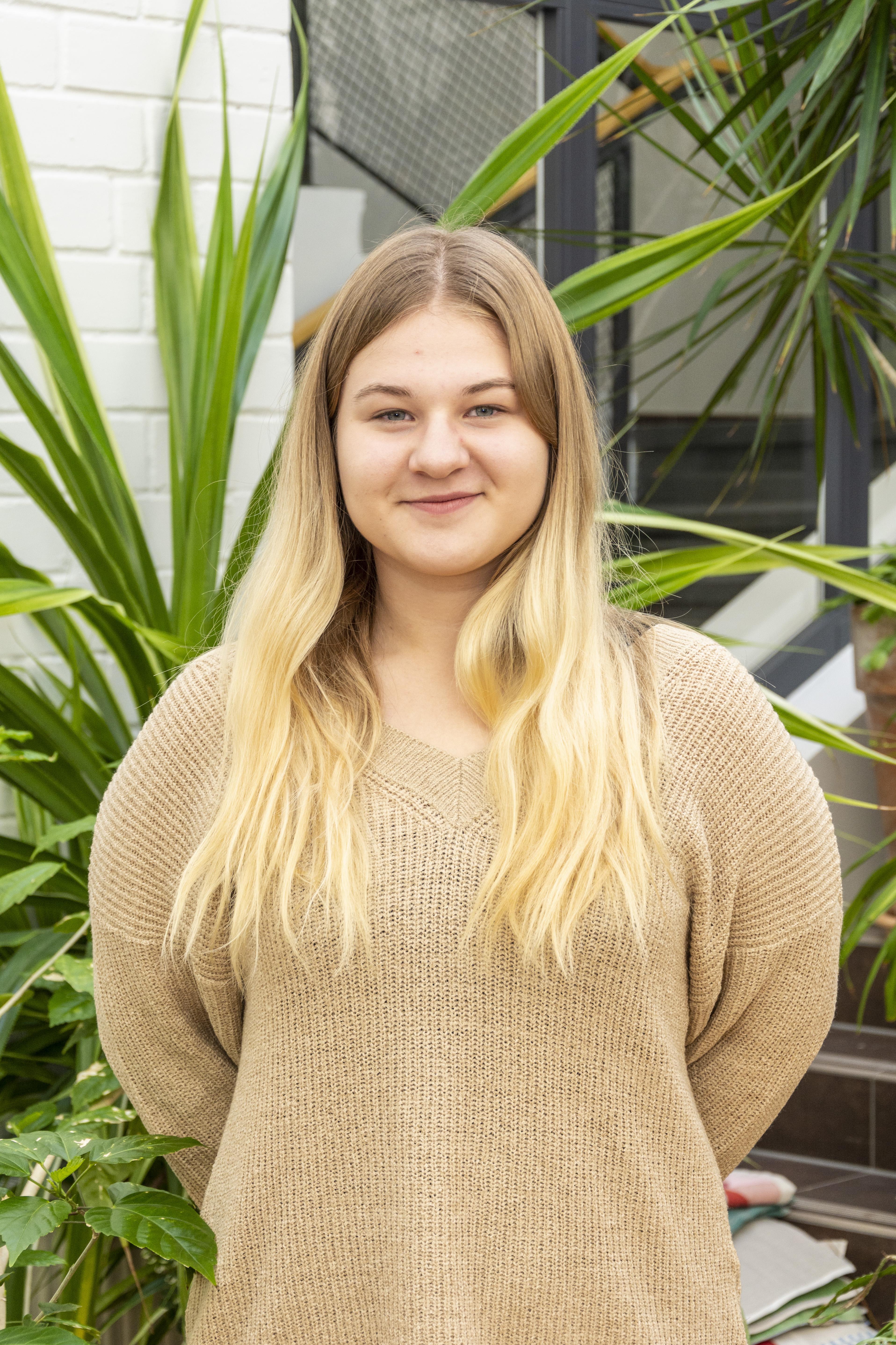 Õpilasomavalitsuse president Kirke Nora Anni
