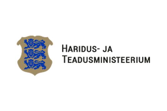 Haridus- ja Teadusministeerium logo
